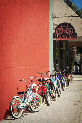 Photograph - Bike Brigade by Valerie Reeves
