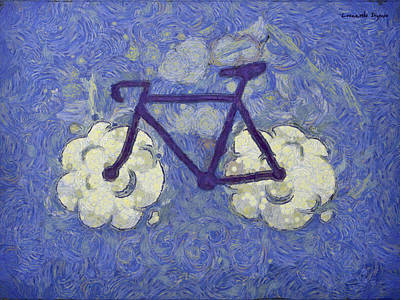 Anchor Down Royalty Free Images - Bike-Cloud Blue - DA Royalty-Free Image by Leonardo Digenio