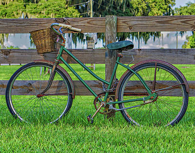Photograph - Bike by Dennis Dugan