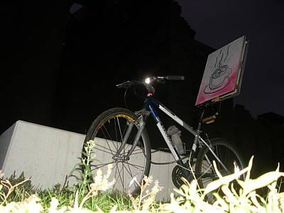 Painting - Bike Gallery by Jack Walsh