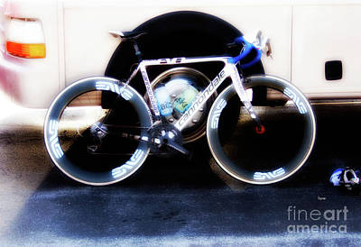 Bicycle Photograph - Bike Glamor  by Steven Digman