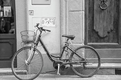 Photograph - Bike In Florence Italy  by John McGraw