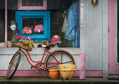 Photograph - Bike - Lulu's Bike by Mike Savad