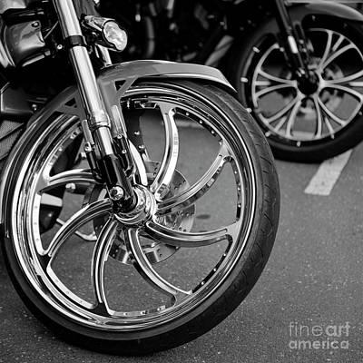 Photograph - Bike Night 1 by Patrick M Lynch
