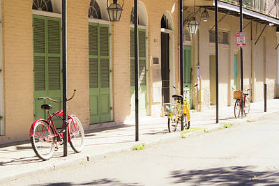 Photograph - Bike Parking In New Orleans by Alexis Lee Scott