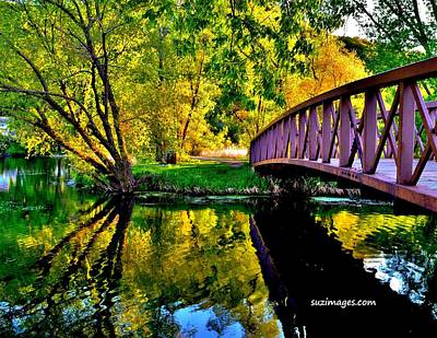 Photograph - Bike Path Bridge by Susie Loechler