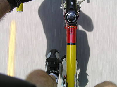 Photograph - Bike Perspective by Pat Moore