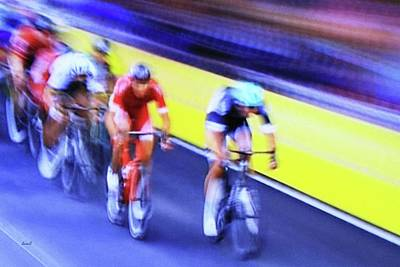 Photograph - Bike Race by Dennis Baswell