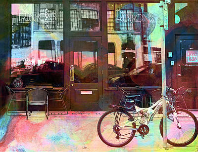 Digital Art - Bike Ride To Runyons by Susan Stone