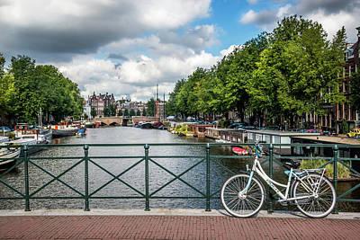 Photograph - Bike Stop by Michael Niessen