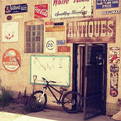 Photograph - Bike Store Salida Colorado by Dutch Bieber