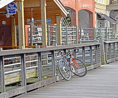 Photograph - Biker Bar by Linda Brown