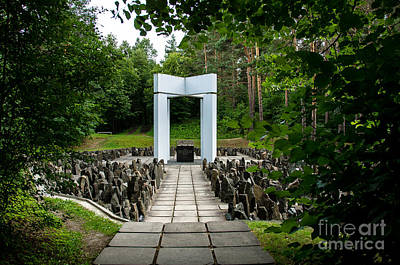 Photograph - Bikernieki Memorial by RicardMN Photography