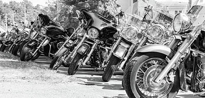 Photograph - Bikers Network by Nick Mares