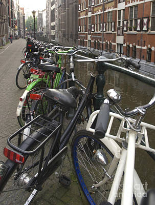 Amsterdam Photograph - Bikes As Far As The Eye Can See by Andy Smy