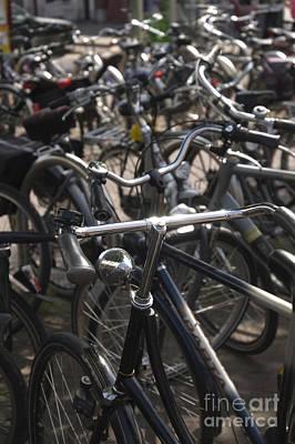 Bikes Bikes Bikes Art Print by Andy Smy