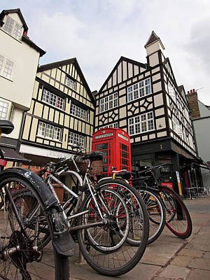 Photograph - Bikes Galore In Cambridge by Gill Billington
