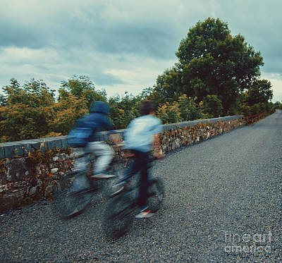Photograph - Bikes On The Deise Greenway 2 by Marc Daly