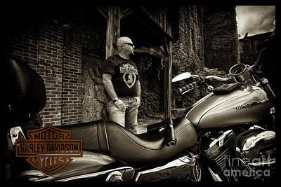 Photograph - Bikes_010 by Tony Cooper