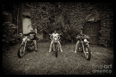 Photograph - Bikes_013 by Tony Cooper