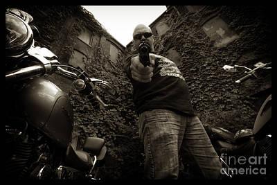 Photograph - Bikes_021 by Tony Cooper