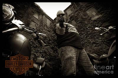 Photograph - Bikes_022 by Tony Cooper