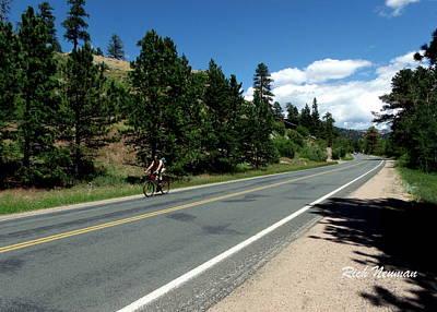 Photograph - Biking Estes by Rich Neuman