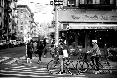 Photograph - Biking In Little Italy by John Rizzuto