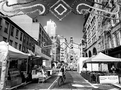 Photograph - Biking To The Feast by John Rizzuto