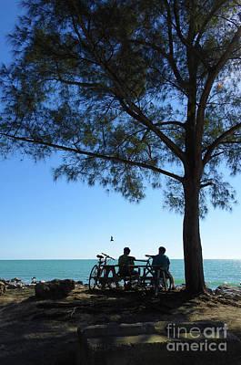 Photograph - Biking Ver 2 by Larry Mulvehill
