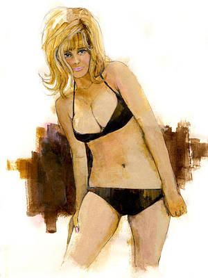 Painting - Bikini Beauty by Paul Sachtleben