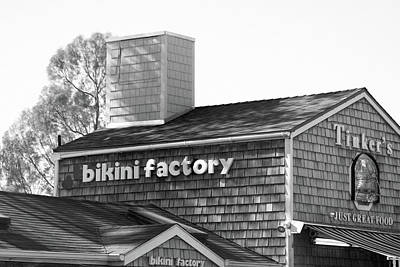 Summerland Photograph - Bikini Factory - Summerland California by Art Block Collections