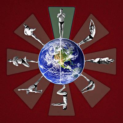 Photograph - Bikram Yoga by Maria Coulson