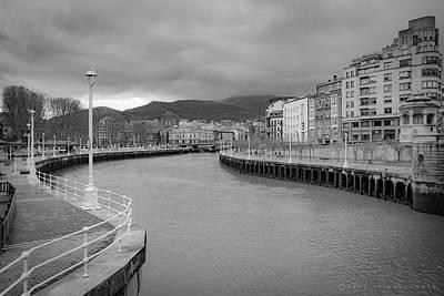 Photograph - Bilbao Spain by Henri Irizarri