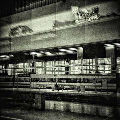 Train Photograph - Bilbao Train Station #train #station by Rafa Rivas