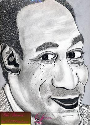 Bill Cosby Art Print by Asils Arts Lisa