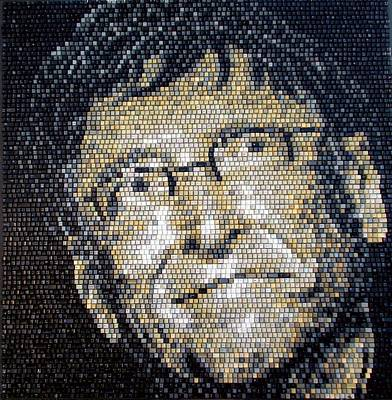 Mixed Media - Bill Gates by Doug Powell