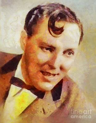 Rock And Roll Royalty-Free and Rights-Managed Images - Bill Haley, Music Legend by Sarah Kirk