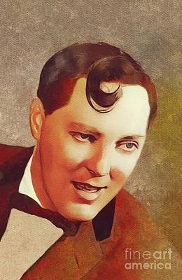 Music Paintings - Bill Haley, Rock and Roll Legend by Esoterica Art Agency