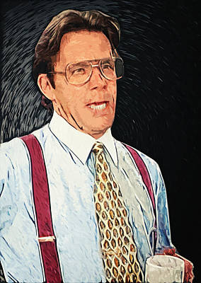 Bill Lumbergh - Office Space Art Print