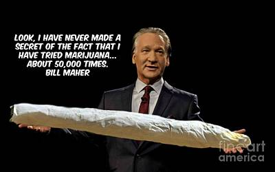 Liberal Mixed Media - Bill Maher Statement On Liberty by Pd