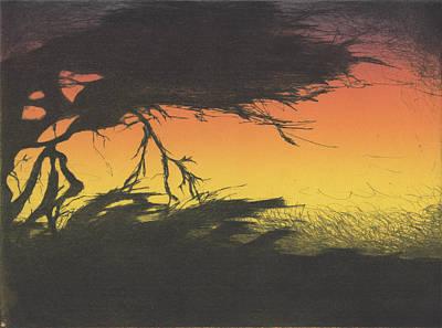 Drawing - Bill Mcgee  by Erik Paul