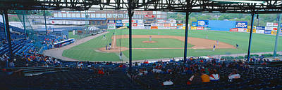 Pitching Photograph - Bill Meyer Stadium, Aa Southern League by Panoramic Images