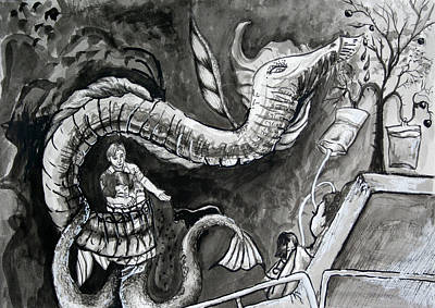 Painting - Bill Monster by Cynthia Lizardi