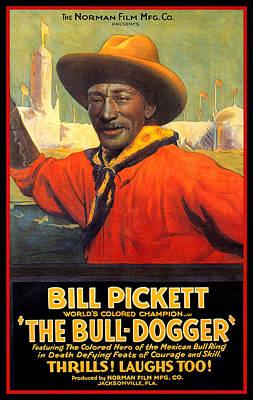 Painting - Bill Pickett  by Gary Grayson