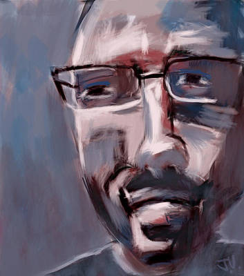 Painting - Bill Rogers by Jim Vance