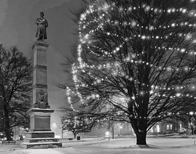 Photograph - Billerica Common 004 by Jeff Stallard