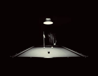 Photograph - Billiard by Vice Atelier