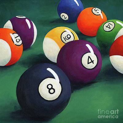 Painting - Billiards by Lisa Norris
