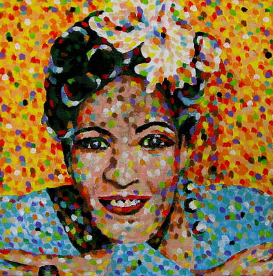 Billie Holiday Painting - Billie by Denise Landis